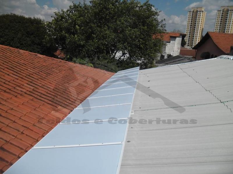 Cobertura Alveolar Policarbonato Retrátil Campo Belo - Cobertura de Policarbonato Alveolar