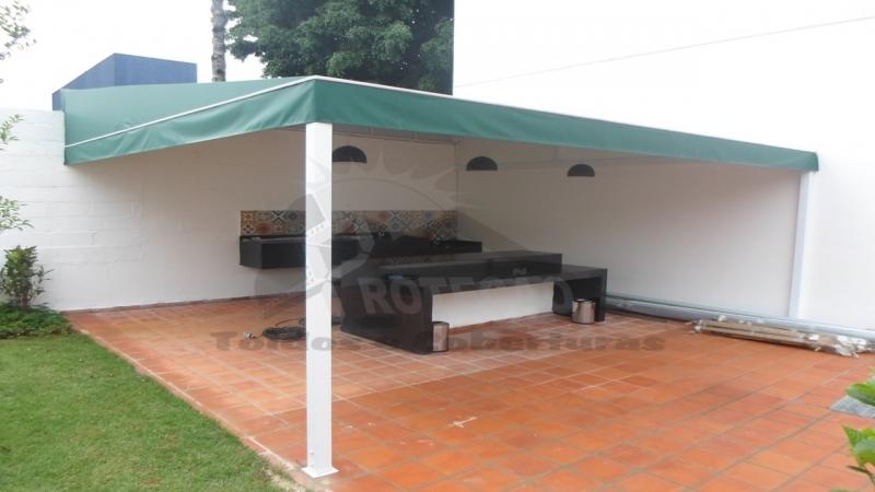 Cobertura de Lona Vila Medeiros - Cobertura de Garagem Abre e Fecha