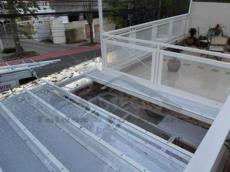 Cobertura de Policarbonato em Garagem Vila Mariana - Cobertura de Policarbonato Transparente