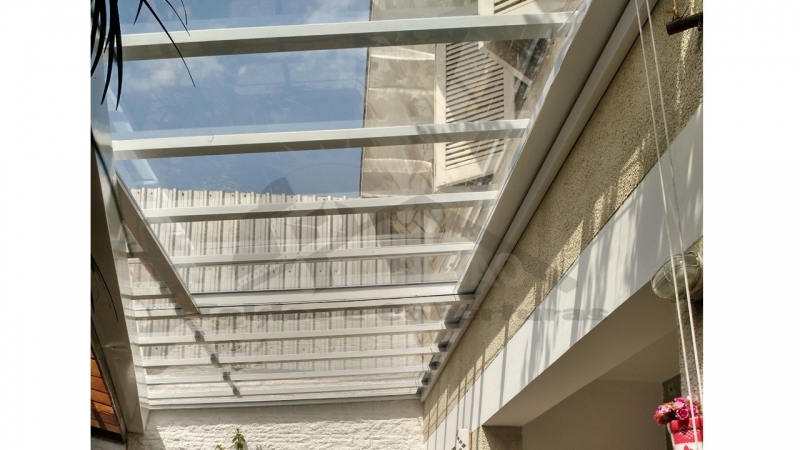 Coberturas Articuladas Jardins - Cobertura de Lona