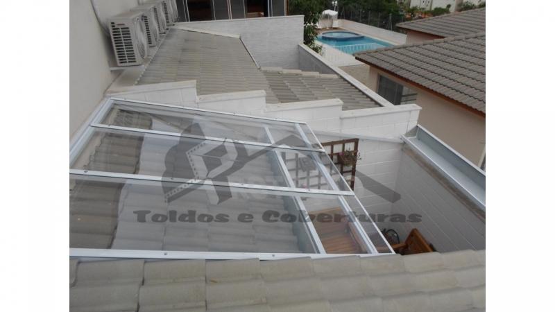 Coberturas de Garagem em Policarbonato Retrátil Cupecê - Cobertura de Policarbonato Retrátil para Lavanderia