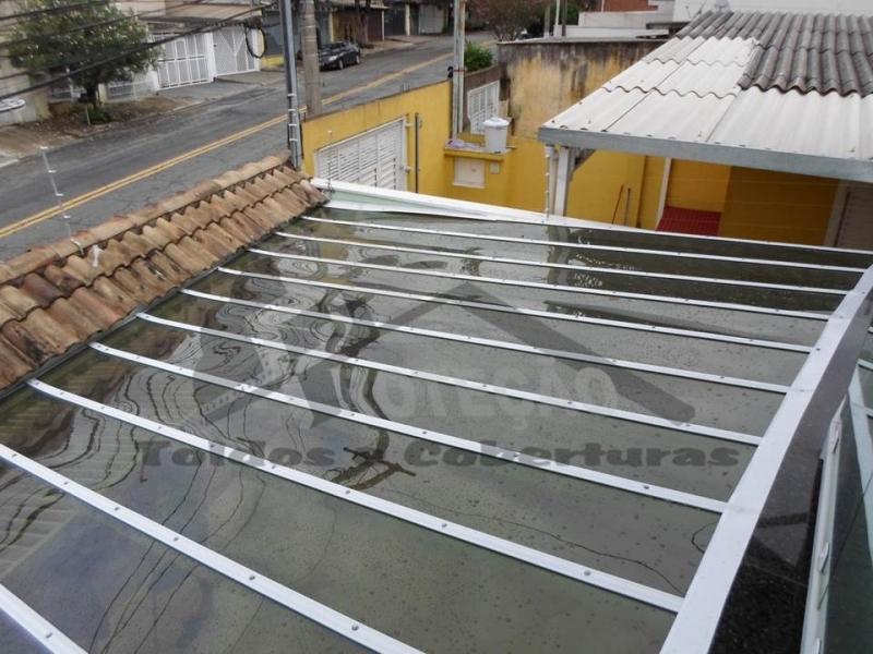 Coberturas de Policarbonato com Madeira Vila Medeiros - Cobertura de Policarbonato com Madeira