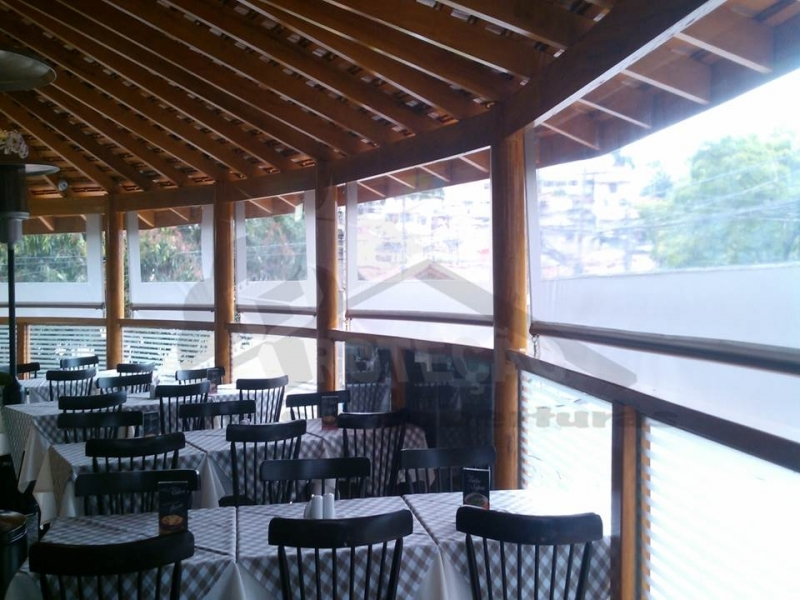 Cortina de Rolo para Restaurante Preço Jardim São Luiz - Cortina de Rolo em área Externa