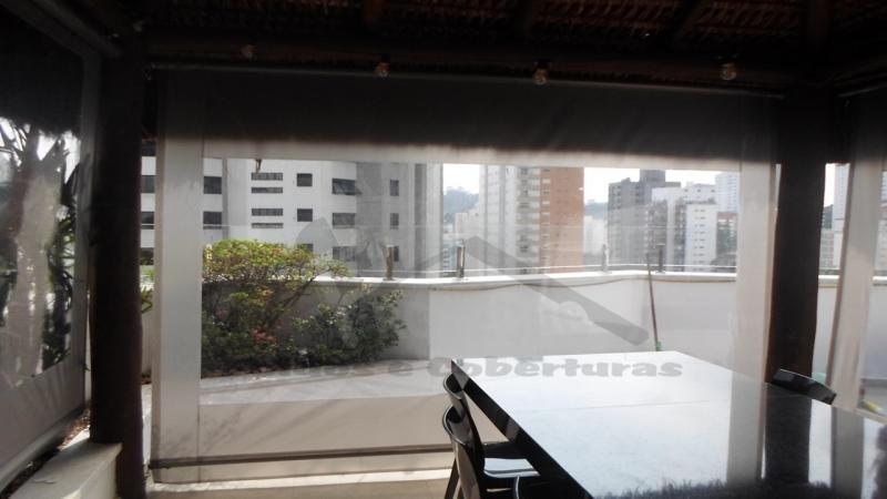 Cortinas de Lona com Visor Santana de Parnaíba - Cortina de Lona para Porta