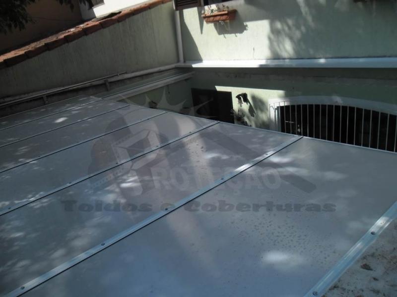 Instalação de Cobertura de Policarbonato para Garagem Jaguaré - Instalação de Cobertura de Policarbonato Retrátil