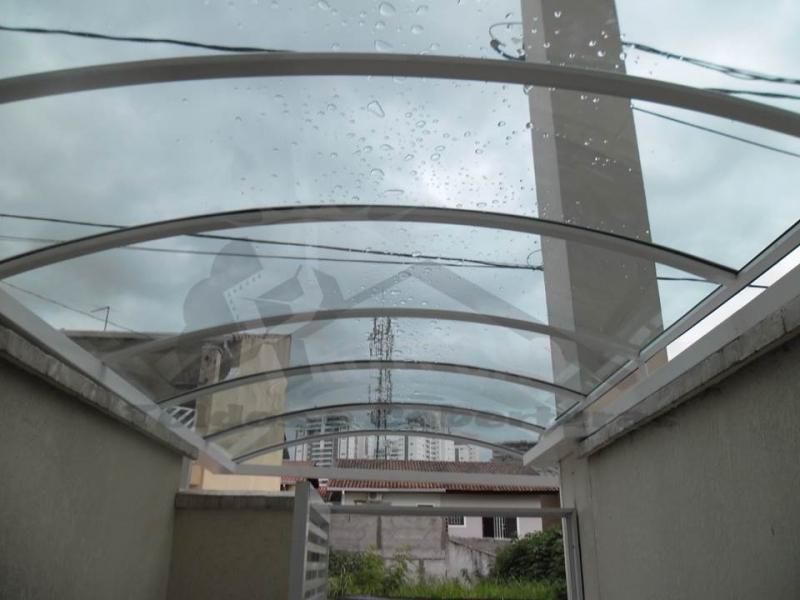 Instalação de Coberturas de Policarbonato Passarela Caieiras - Instalação de Cobertura de Policarbonato para Porta