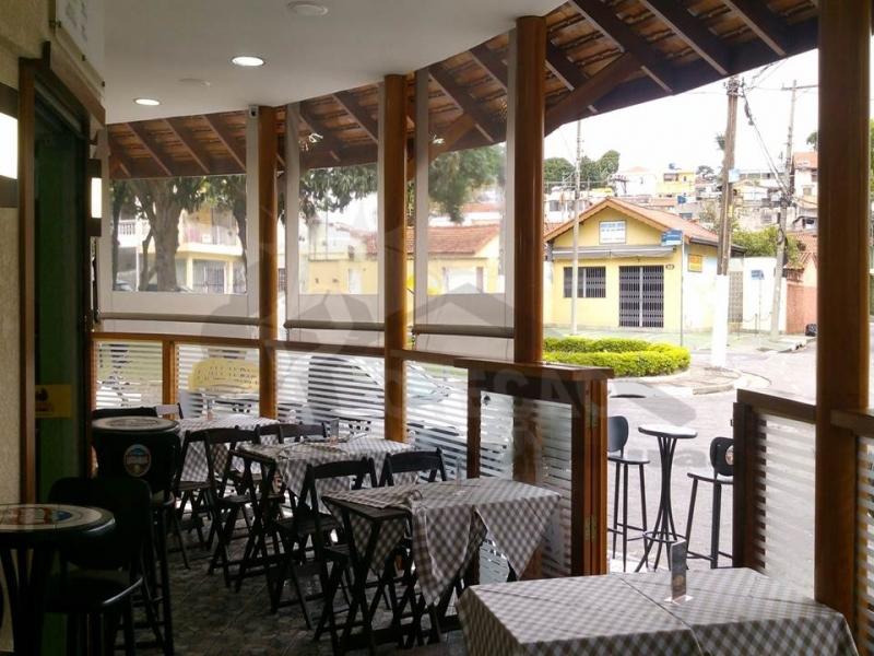Instalação de Cortina de Rolo para Restaurante Vila Leopoldina - Cortina de Rolo em área Externa