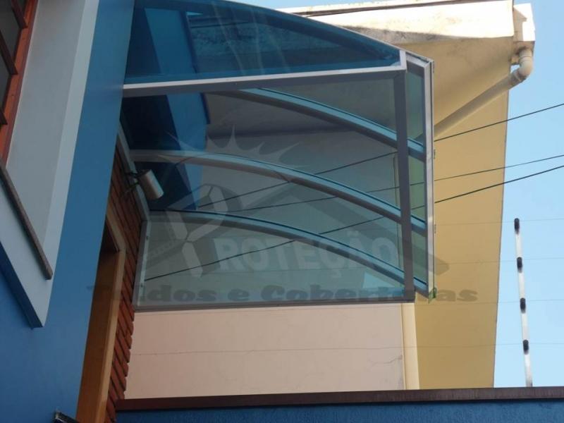Orçamento de Cobertura de Policarbonato Compacta para Janelas Cidade Ademar - Cobertura de Policarbonato Compacta Cristal