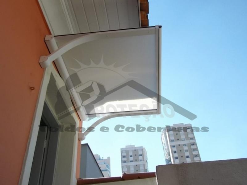 Preço de Toldo para Porta Policarbonato Ibirapuera - Toldo para Porta de Entrada