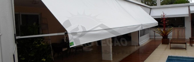 Proteção Toldos e Coberturas - Cortina de Lona