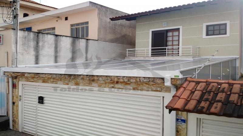 Quanto Custa Cobertura em Policarbonato Compacta para Garagem Vila Leopoldina - Cobertura de Policarbonato Compacta Cristal