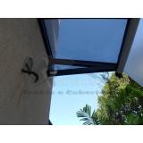 cobertura de policarbonato compacta para janelas preço Jardim Ângela