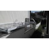 cobertura de policarbonato compacta para lavanderia preço Vila Medeiros
