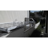 cobertura de policarbonato compacta para lavanderia preço Butantã