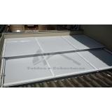 cobertura de policarbonato compacta para lavanderia Caieiras