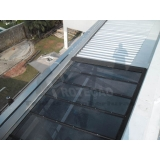 cobertura de policarbonato e vidro  preço Cotia