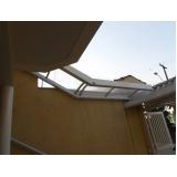 cobertura de policarbonato para escada Jabaquara
