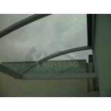 cobertura de policarbonato para janelas  preço Jurubatuba