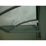 cobertura de policarbonato para janelas  preço Morumbi
