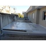 cobertura de policarbonato para quintal  preço Jardim Ângela