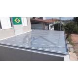 cobertura em policarbonato para garagem preço Itaim Bibi