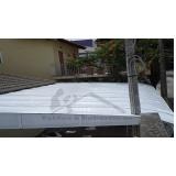 cobertura em policarbonato compacta para garagem