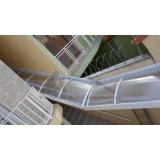 coberturas de policarbonato para escada Jandira