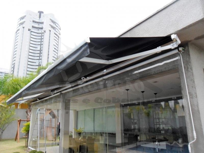 coberturas de policarbonato retrátil para piscina Butantã
