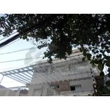 coberturas de policarbonato transparente Jardim Bonfiglioli