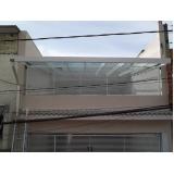 coberturas em policarbonato para garagem Alto da Lapa
