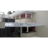 coberturas em policarbonato para piscina Campo Grande
