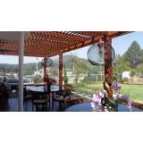 cortina de lona com visor transparente Água Funda