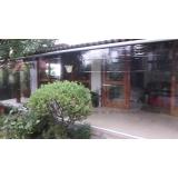 cortina de lona transparente preço Campo Belo