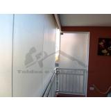 cortina de rolo externa preço Vila Gustavo