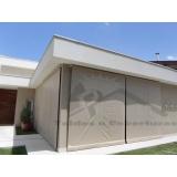 cortina de rolo externa Casa Verde