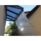 cortina de rolo para área externa preço Tremembé