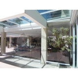 cortina de rolo para área externa Francisco Morato