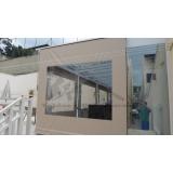 cortina rolo de lona Jardim São Luiz