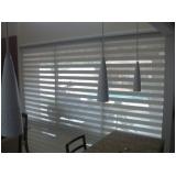 cortina rolo dupla preço Francisco Morato