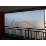 cortina rolo em área externa preço Jardim Paulista