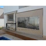 cortina rolo para varanda preço Vargem Grande Paulista