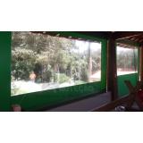 cortina tipo painel lona preço Campo Belo