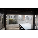 cortinas de lona com visor Jardim São Luiz