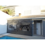 cortinas de rolo para área externa Vila Maria