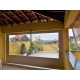 cortinas de rolo toldo externo Butantã