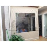 cortinas rolo em área externa Pinheiros