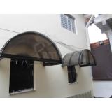 empresa de cobertura de policarbonato para janelas Taboão da Serra