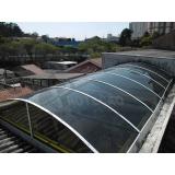 empresa de instalação de cobertura de policarbonato compacta Água Funda