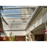 empresa de instalação de cobertura de policarbonato transparente Alto de Pinheiros