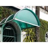 instalação de cobertura de policarbonato em comércio preço Vila Sônia